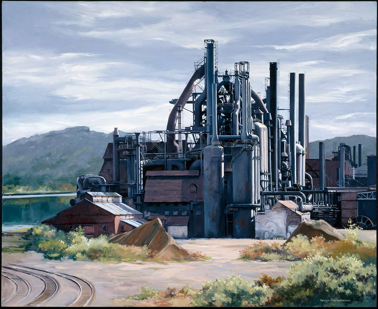 A Century of Steel | 40 x 60 oil on canvas