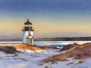 Brant Point Light, Nantucket | 8.5 x 10