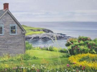 Coastal Stillness, Maine | 18 x 24 oil on canvas SOLD