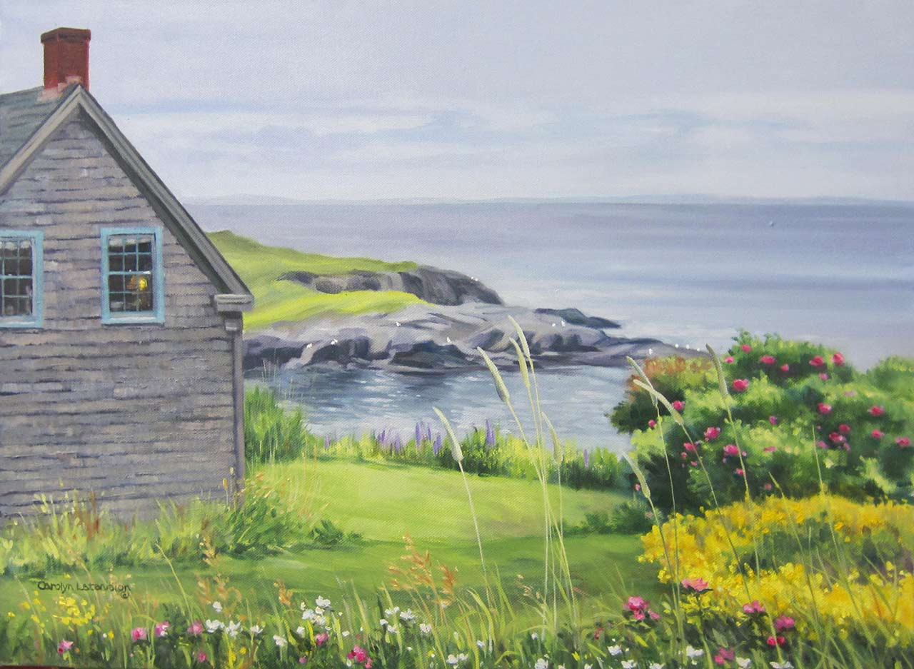 Coastal Stillness, Maine | 18 x 24 oil on canvas SOLD