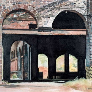 Iron Foundry Changes | 10.5 x 15.5 watercolor