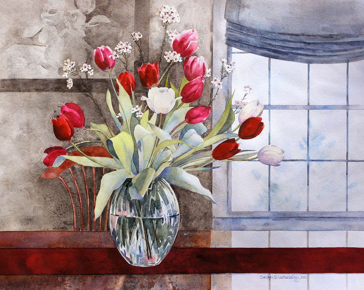 Tulip Time | 21.5 x 26 SOLD