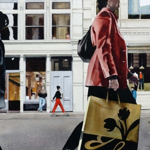 Shopping in Soho